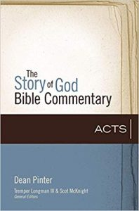 acts commentary dean pinter