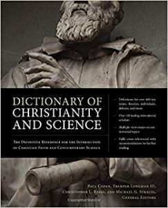 Christianity science dictionary