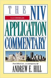 chronicles bible commentary hill cover