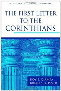 first corinthians bible commentary