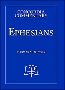 ephesians bible commentary winger cover