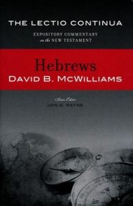 hebrews bible commentary mcwilliams cover
