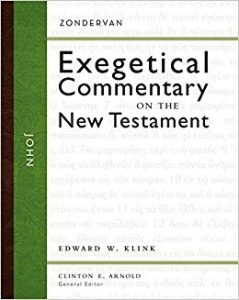 john bible commentary klink cover