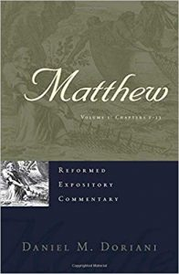 matthew bible commentary doriani