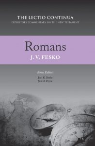 romans bible commentary fesko cover