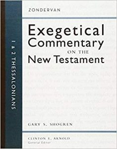 thessalonians bible commentary shogren