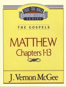 McGee Thru the Bible commentaries