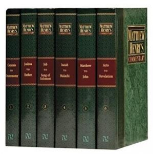 Matthew Henry commentaries set