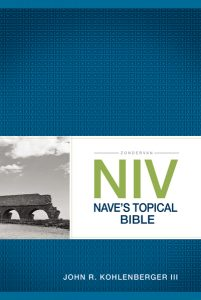 NIV Topical Bible