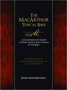 John MacArthur Topical Bible