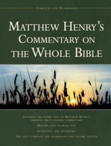 one-volume whole bible commentary