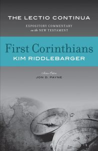 1 Corinthians commentary Riddlebarger