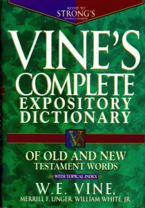 vines complete dictionary