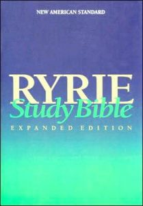 Ryrie study bible cover