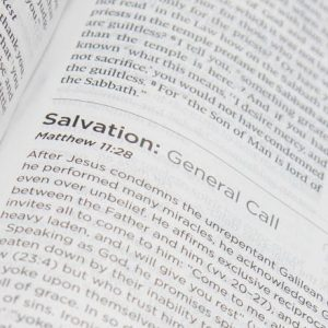 systematic theology study bible salvation
