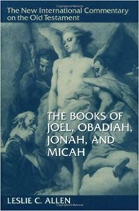 New International Commentary Joel Obadiah
