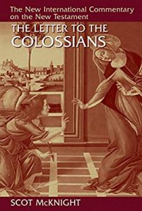 Colossians New International Commentary