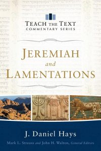 Teach the Text Jeremiah Lamentations