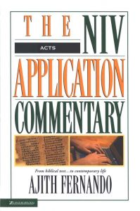 Acts commentary by Ajith Fernando