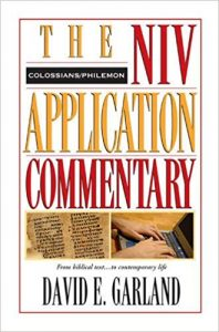 NIV Application Commentary Colossians Philemon