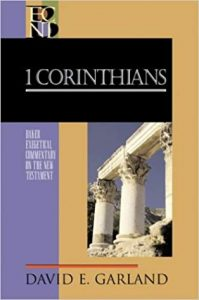 First Corinhtians commentary by David Garland