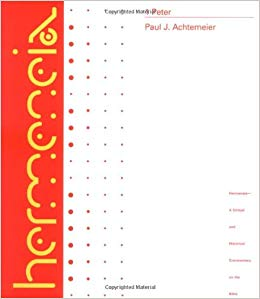 First Peter commentary by Paul Achtmeier