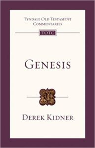Genesis commentary by Derek Kidner