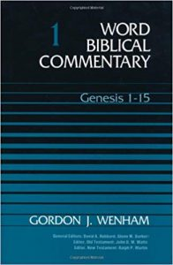 Genesis commentary by Gordon Wenham