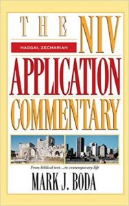NIV Application Commentary Haggai Zechariah