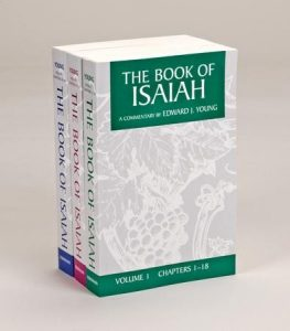 Isaiah commentary by Edward Young