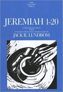 Jeremiah commentary by Jack Lundbom