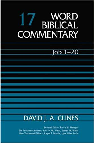 Job commentary by David Clines