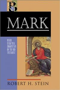 Mark commentary by Robert Stein