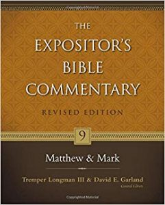 Matthew commentary by D.A. Carson