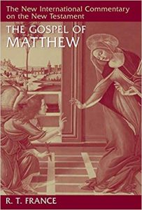 Matthew commentary by R.T. France