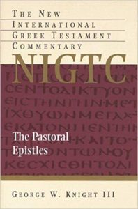 Pastoral Epistles by George Knight
