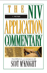 NIV Application Commentary 1 Peter