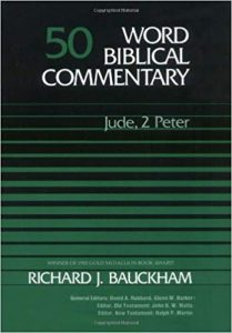 Peter Jude commentary by Richard Bauckham