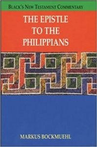 Philippians commentary by Markus Bockmuehl