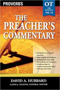 Proverbs commentary by David Hubbard