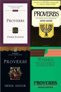 Proverbs by Derek Kidner
