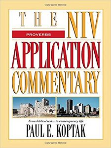 NIV Application Commentary Proverbs