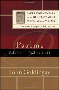 Psalms commentary by John Goldingay