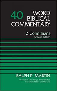 Second Corinthians by Ralph Martin