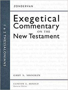 1-2 Thessalonians Zondervan Exegetical Commentary
