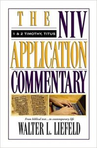 NIV Application Commentary Timothy Titus