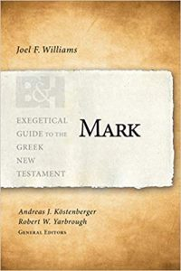 Mark commentary by Joel Williams