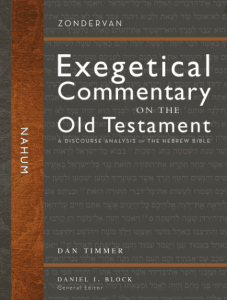 Nahum commentary by Dan Timmer