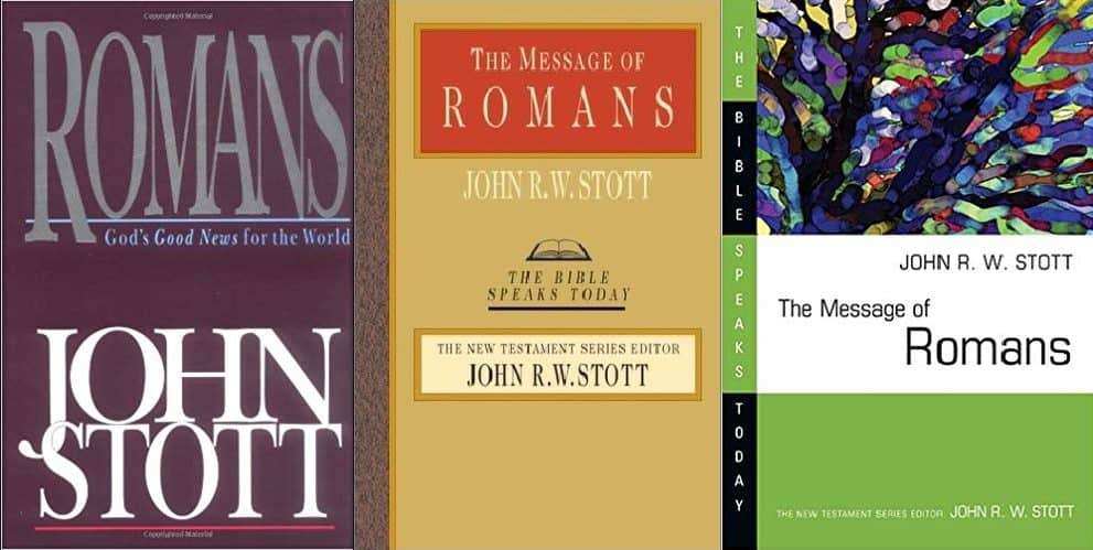 Romans commentary by John Stott