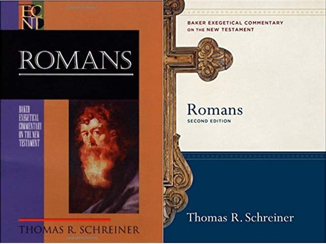 Romans commentary by Thomas Schreiner